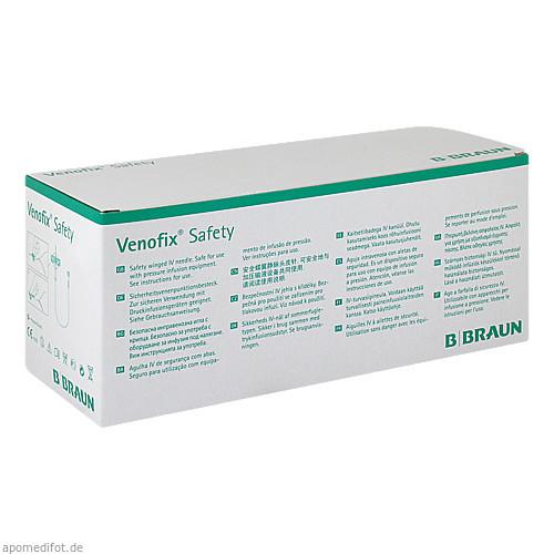 Venofix Safety Venenpunkt. 21 G 0.8 mm, 50 ST, Eurimpharm Arzneimittel GmbH