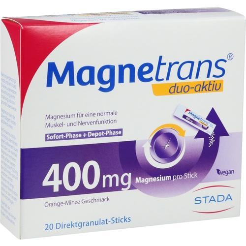 Magnetrans duo-aktiv 400mg, 20 ST, STADA Consumer Health Deutschland GmbH