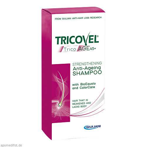 Tricovel Trico AGE 45+ Shampoo, 200 ML, Derma Enzinger GmbH