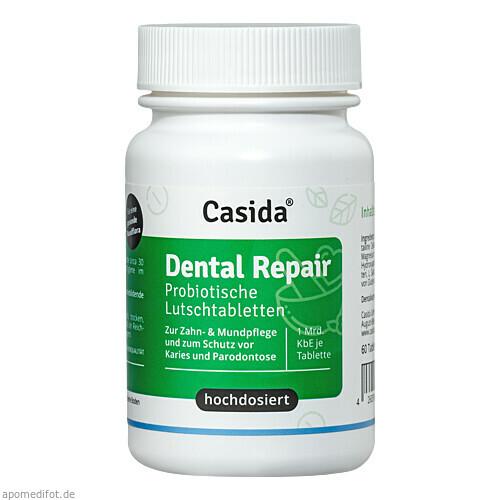 Dental Repair Probiotika Lutschtablette, 60 ST, Casida GmbH & Co. KG