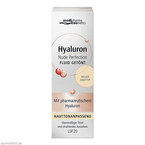 Hyaluron Nude Perfection Fluid getönt heller HTL20, 50 ML, Dr. Theiss Naturwaren GmbH