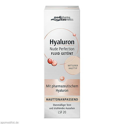 Hyaluron Nude Perfection Fluid getönt mittl HT L20, 50 ML, Dr. Theiss Naturwaren GmbH