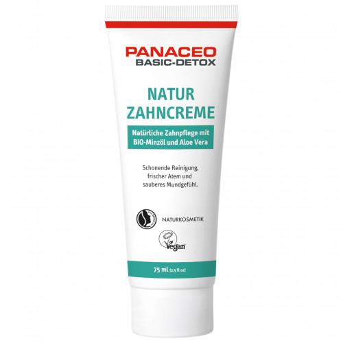 PANACEO BASIC-DETOX NATUR ZAHNCREME, 75 ML, DR. KADE Pharmazeutische Fabrik GmbH