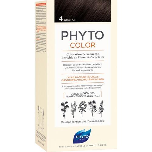PHYTOCOLOR 4 Braun ohne Ammoniak, 1 ST, Ales Groupe Cosmetic Deutschland GmbH