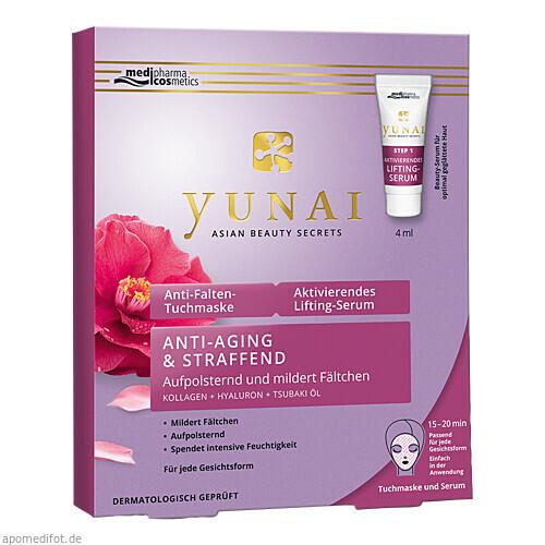 Yunai Anti-Falten-Maske 25g+Aktiv.Lifting-Ser. 4ml, 1 P, Dr. Theiss Naturwaren GmbH