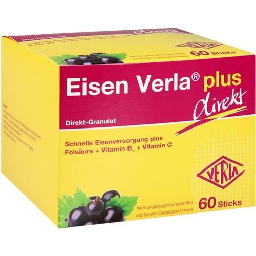 Eisen Verla plus Direkt-Sticks, 60 ST, Verla-Pharm Arzneimittel GmbH & Co. KG