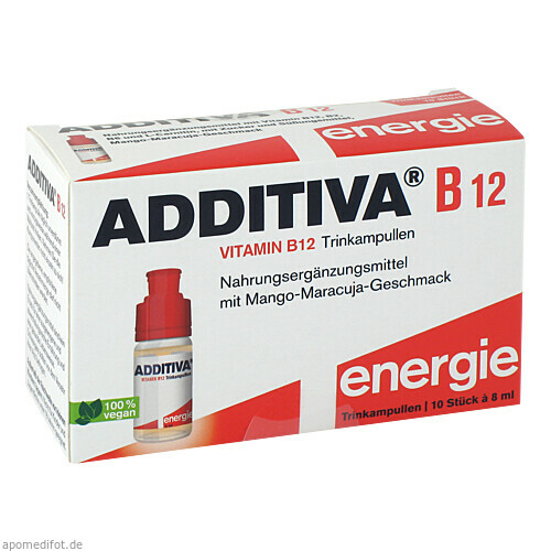 Additiva Vitamin B12, 10X8 ML, Dr.B.Scheffler Nachf. GmbH & Co. KG