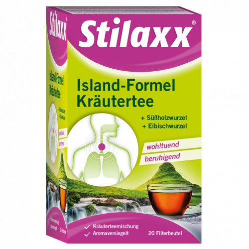 Stilaxx Island Formel Kräutertee Erwachsene, 20 ST, Hager Pharma GmbH