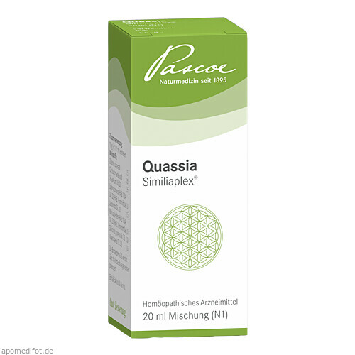 Quassia Similiaplex, 20 ML, Pascoe pharmazeutische Präparate GmbH