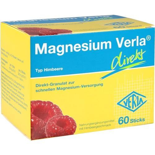 MAGNESIUM VERLA direkt Himbeere, 60 ST, Verla-Pharm Arzneimittel GmbH & Co. KG