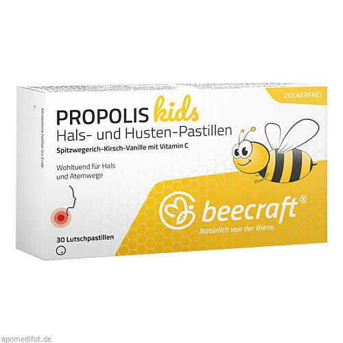 beecraft Propolis Hals-Husten-Pastillen Kids, 30 ST, Roha Arzneimittel GmbH