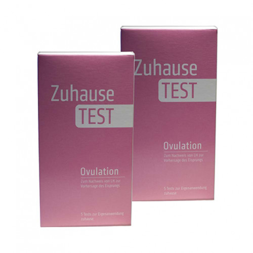 ZuhauseTEST Ovulation, 10 ST, Nanorepro AG