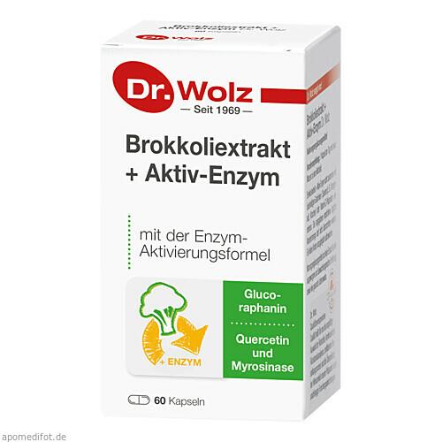 Brokkoliextrakt + Aktiv-Enzym Dr. Wolz, 60 ST, Dr. Wolz Zell GmbH