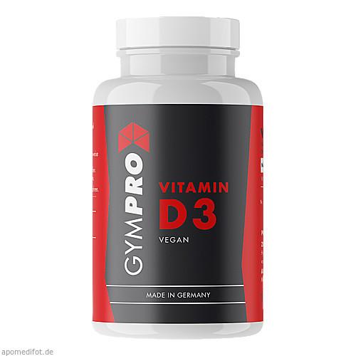 GymPro Vitamin D3 Kapseln, 120 ST, GymPro UG (haftungsbeschränkt)