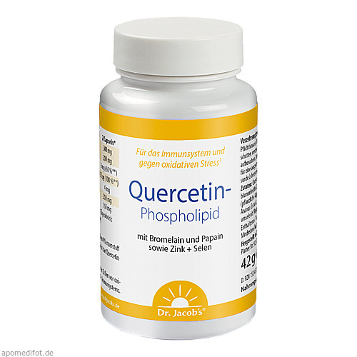 Quercetin-Phospholipid Dr. Jacob's, 60 ST, Dr.Jacobs Medical GmbH