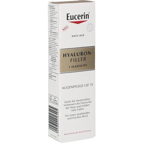Eucerin Anti-Age Hyaluron-Filler +Elasticity Auge, 15 ML, Beiersdorf AG Eucerin