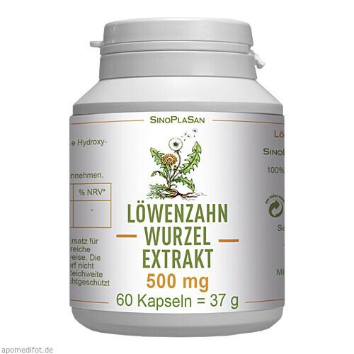 Löwenzahnwurzel-Extrakt 500 mg Mono, 60 ST, Sinoplasan AG
