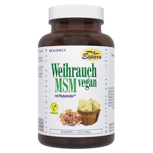 Weihrauch-MSM vegan, 180 ST, Espara GmbH