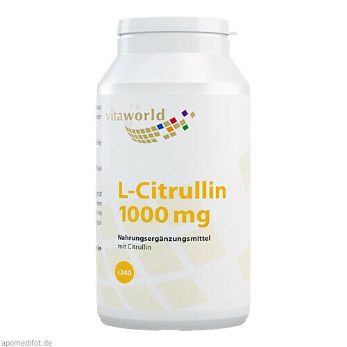 L-Citrullin 1000 mg, 240 ST, Vita World GmbH