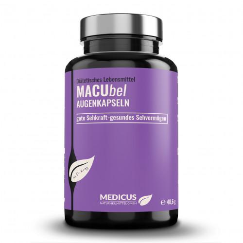MACUbel Augenkapseln Medicus, 90 ST, Dr. Fleckenstein GmbH