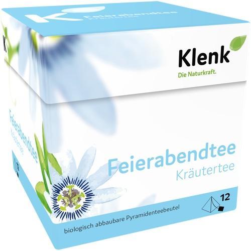 Feierabendtee Pyramidenbeutel, 12X2.5 G, Heinrich Klenk GmbH & Co. KG