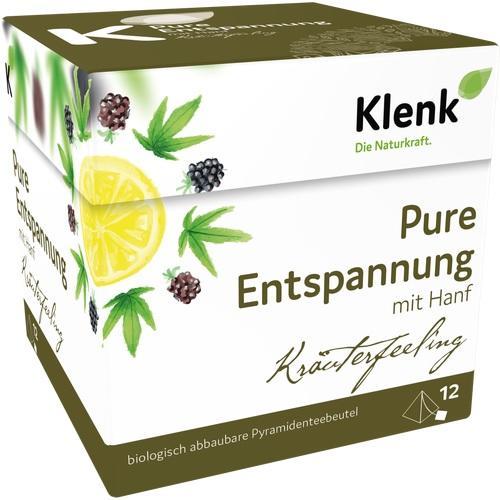 Pure Entspannung Pyramidenbtl., 12X2 G, Heinrich Klenk GmbH & Co. KG