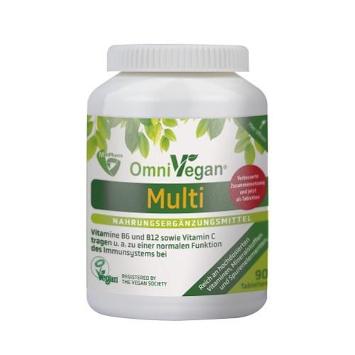 OmniVegan Multi - zertifiziert VEGAN, 90 ST, Boma Lecithin GmbH