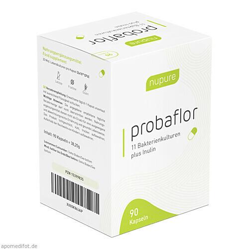 nupure probaflor - Probiotika zur Darmsanierung, 90 ST, AixSwiss B.V.