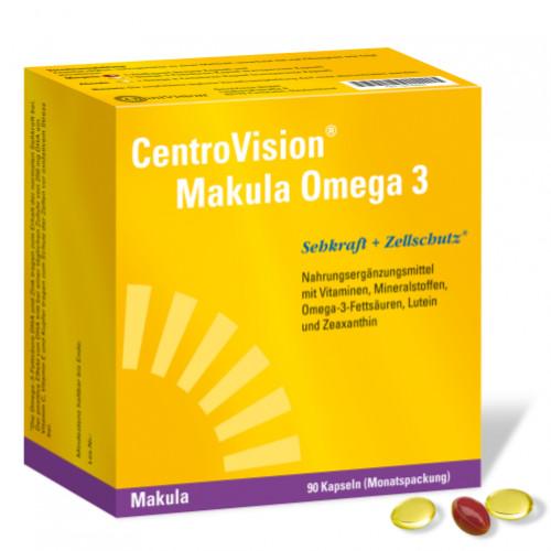 CentroVision Makula Omega 3, 90 ST, Omnivision GmbH