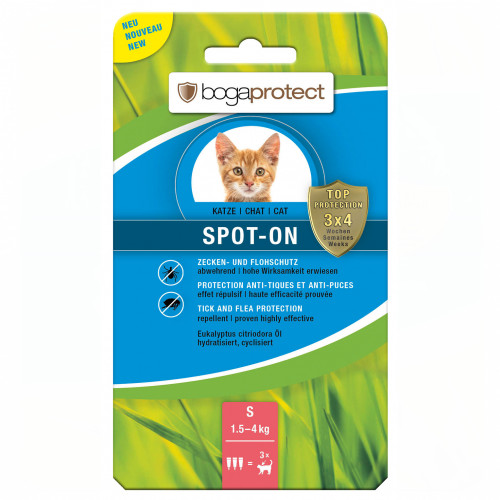 bogaprotect SPOT ON Katz S, 3X0.7 ML, Werner Schmidt Pharma GmbH