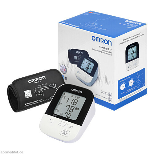 OMRON M400 Intelli IT Oberarm Blutdruckmessgerät, 1 ST, Hermes Arzneimittel GmbH