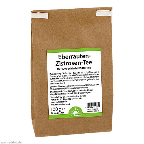 Eberrauten-Zistrosen-Tee Dr. Jacob's, 100 G, Dr.Jacobs Medical GmbH