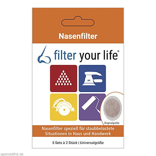 FILTER YOUR LIFE Haus und Handwerk Universalgröße, 5X2 ST, Imp GmbH International Medical Products
