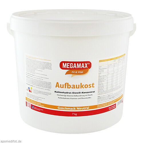 MEGAMAX Aufbaukost NEUTRAL, 7 KG, Megamax B.V.