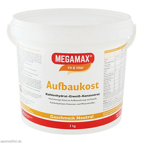 MEGAMAX Aufbaukost NEUTRAL, 3 KG, Megamax B.V.