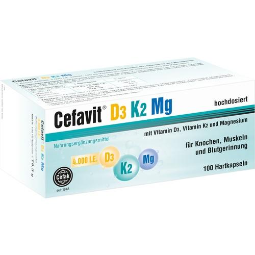 Cefavit D3 K2 Mg 4.000 I.E., 100 ST, Cefak KG
