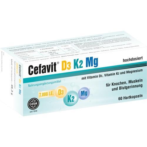Cefavit D3 K2 Mg 7.000 I.E., 60 ST, Cefak KG