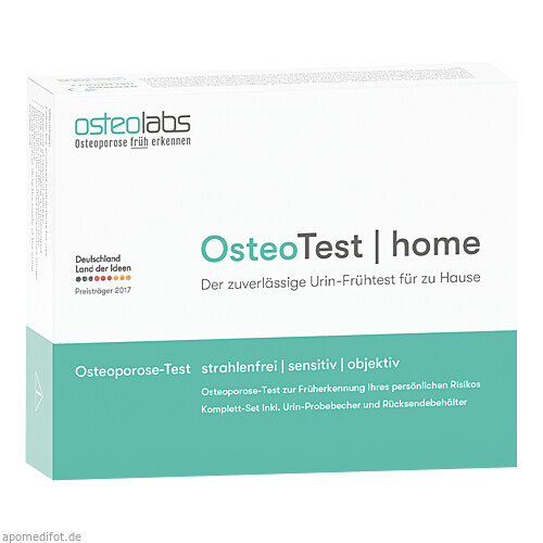 osteoTest HOME, 1 ST, osteolabs GmbH