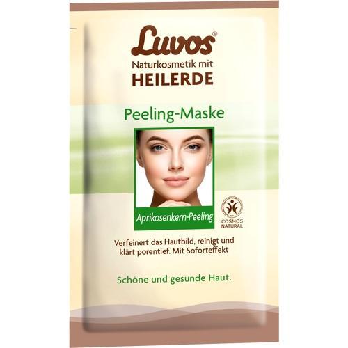 Luvos Crememaske Peeling, 2X7.5 ML, Heilerde-Gesellschaft Luvos Just GmbH & Co. KG