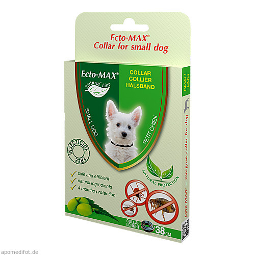 Floh- und Zeckenschutzhalsband f. Hunde Ecto-MAX, 38 CM, Habitum Pharma