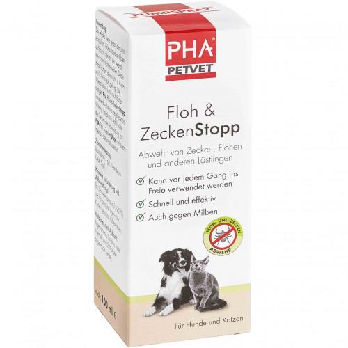 PHA Floh & ZeckenStopp, 100 ML, PetVet GmbH