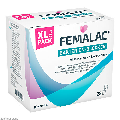 FEMALAC Bakterien-Blocker, 28 ST, Apogepha Arzneimittel GmbH