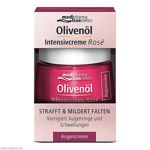 Olivenöl Intensivcreme Rose Augencreme, 15 ML, Dr. Theiss Naturwaren GmbH