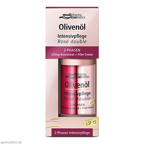 Olivenöl Intensivpflege Rose double, 2X15 ML, Dr. Theiss Naturwaren GmbH