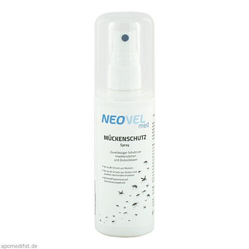 Neovel med Mückenschutz Spray, 100 ML, Gib Pharma GmbH