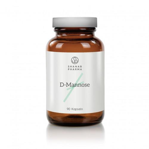 D Mannose 500mg Kapseln - Vegan, 90 ST, shanab pharma e.U.