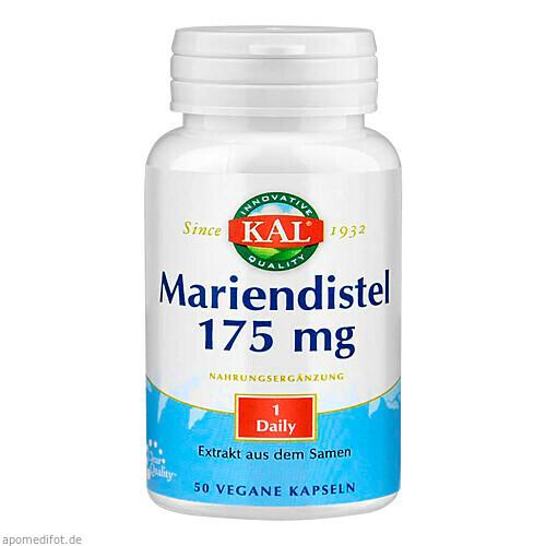 Mariendistel-Extrakt 175 mg, 60 ST, Supplementa Corporation B.V.