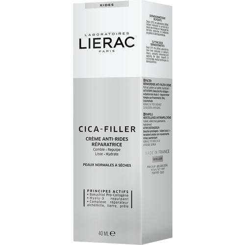 LIERAC CICA-FILLER REPARIERENDE ANTI-FALTEN CREME, 40 ML, Laboratoire Native Deutschland GmbH