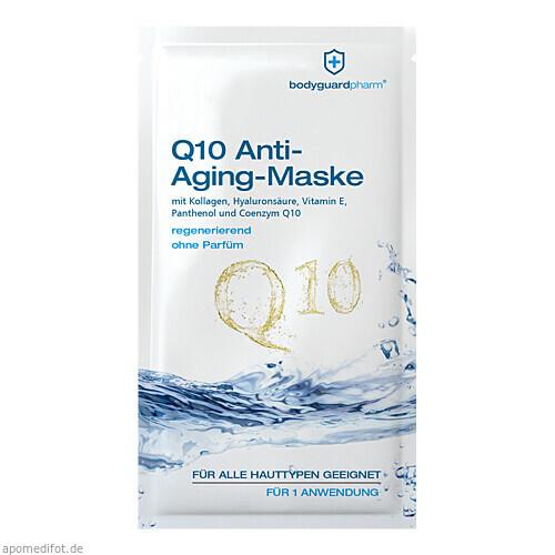 Q10 Anti Aging Maske, 10 ML, bodyguardpharm GmbH