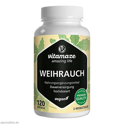 Weihrauch 900mg hochdosiert vegan, 120 ST, Vitamaze GmbH